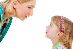 Mother And Daughter Negotiating Request